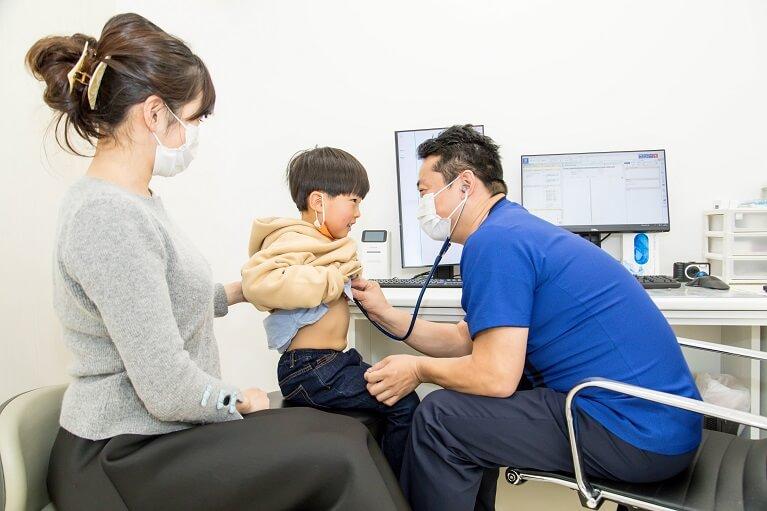 小児科で対応する疾患