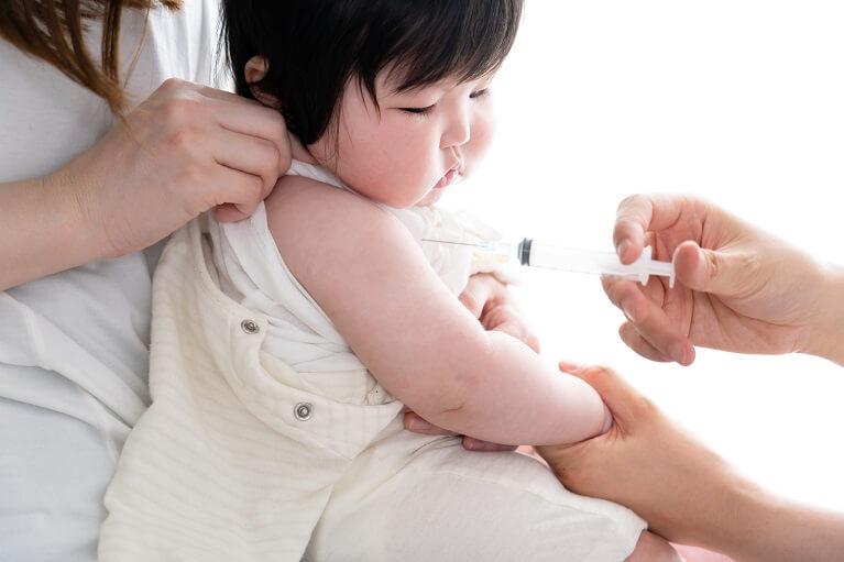 子供の予防接種