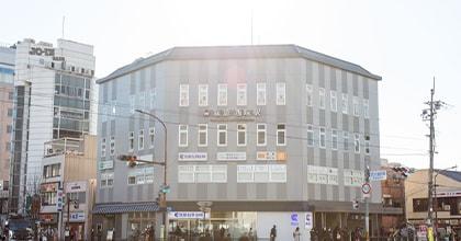 阪急「西院駅」直結駅近でアクセスが良いクリニックです